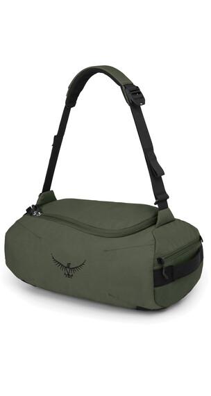 Osprey Trillium 45 Duffel Truffle Green